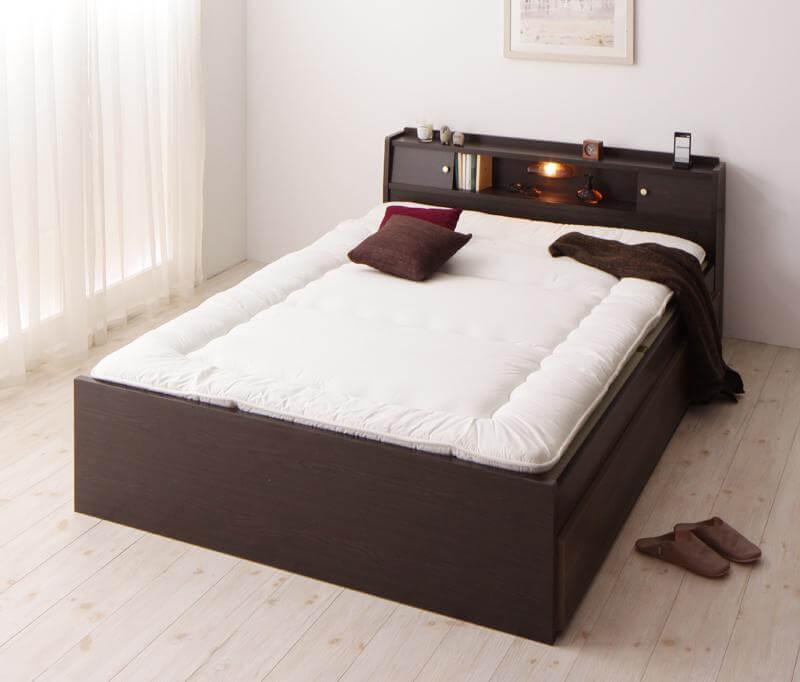 布団で寝る畳ベッド
