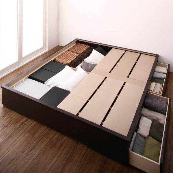 畳ベッド 夢水花 収納