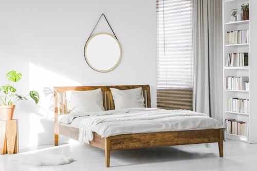 部屋の広さ ベッド