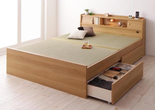 畳ベッド 泰然 引き出し収納
