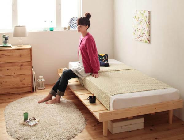 ショート丈ベッド  Pieni