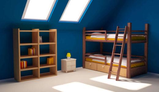 二段ベッドは安心?耐震性と地震に備えた3つの揺れ防止対策