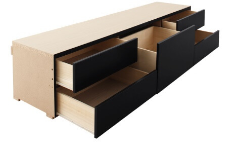 チェストベッド BOX構造
