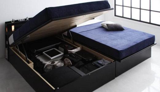 収納ベッドで狭い部屋を有効活用。ワンルームにおすすめ収納ベッド6選