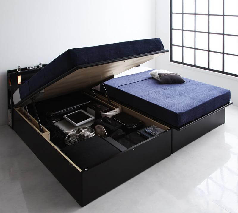 収納ベッドおすすめ