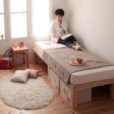 天然木 すのこベッド